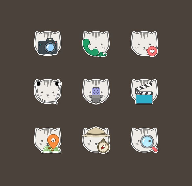 Cat Icon on Behance