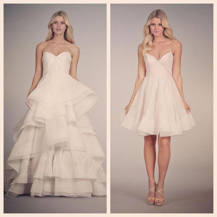 86 best convertible wedding gowns images on Pinterest   Short ...