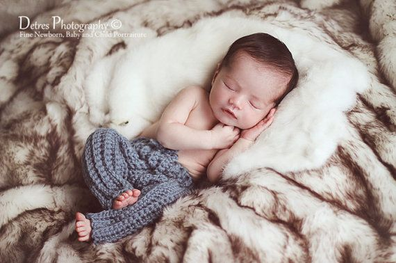 Baby Boy Newborn Pants Crochet Baby Boy by handsomeboyboutique, $25.00