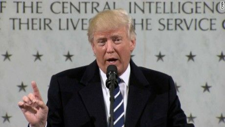 "Donald Trump is under scrutiny for remarks he made during an appearance at the CIA where he suggested the United States might ""have another chance"" to take Iraq's oil supply. CNN's Barbara Starr reports."
