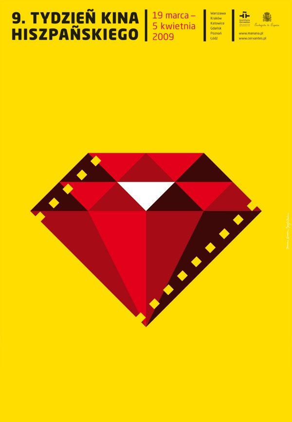 Spanish Film Week by homework , via Behance