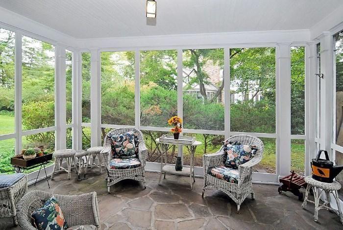 sunroom in estate sale Home in Ho-Ho-Kus, NJ