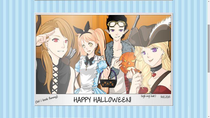 Ichigo,Momiji, Haru and Nina