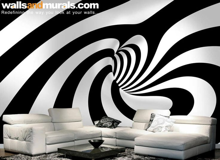 Swirling Tunnel 3D Wallpaper for Walls