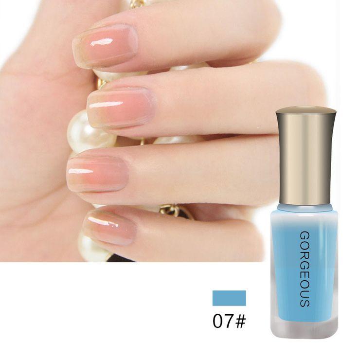 1Pcs 10ML BK Brand Nude Series Translucent Nail Polish Like Jelly Lacquer Professional Nail Art Paint. Click visit to buy #Nail #Polish #NailPolish