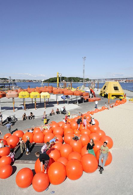 playscapes: Real Stuff on the Playground: Geopark, Helen and Hard, Stavanger Norway, 2008