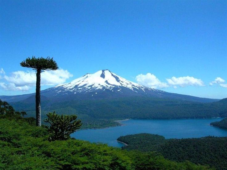 Araucanía, no Chile, onde o turismo é sinônimo de aventura e natureza. Bom para a prática de trekking, ciclismo e caiaque.