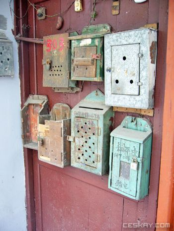 Mission Mailboxes are too old and not suitable for any mail.