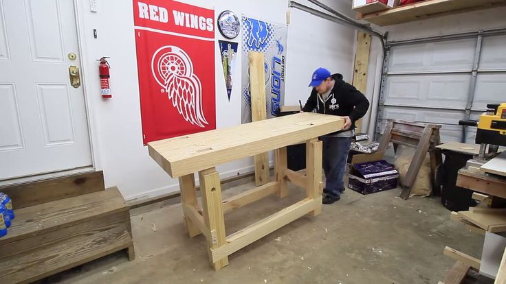 woodworking workbench (34)