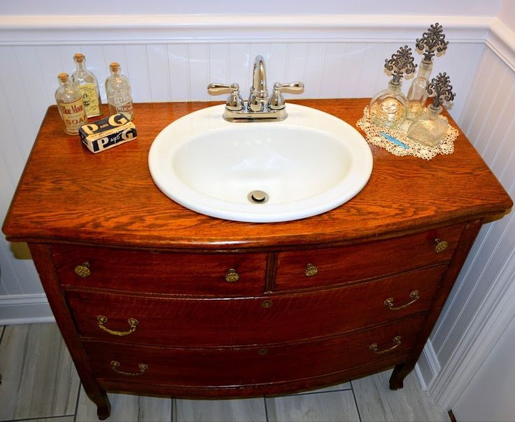 10 Best Antique Dresser Converted Into A Bath Vanity Images On Pinterest Antique Dressers