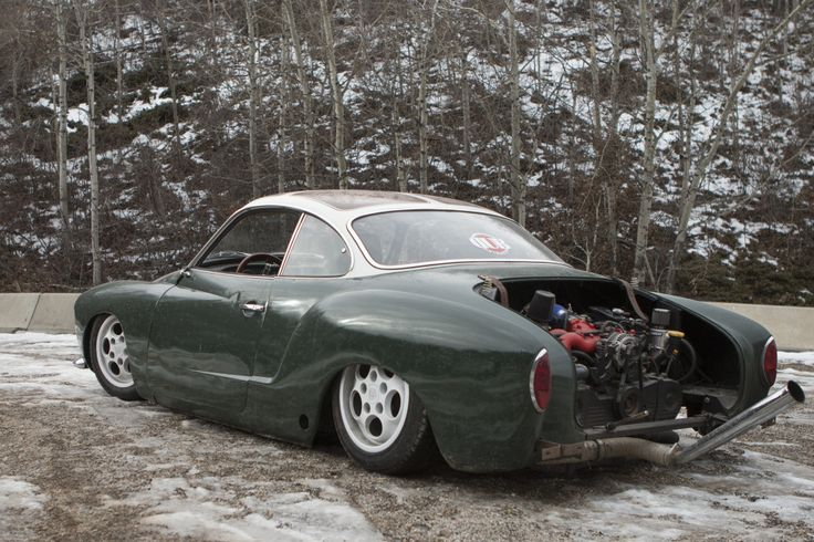 1968 Vw Karman Ghia Ghiaru 2 2l Turbo Motor From A