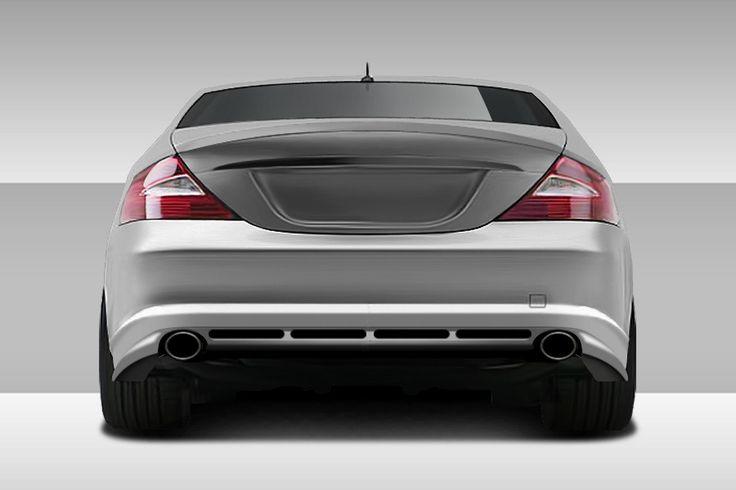 2006-2008 Mercedes CLS Class C219 W219 Eros Version 1 Rear Lip Spoiler - 1 Piece