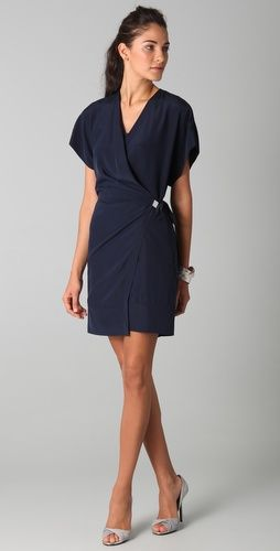 Hard to spend $300+ on a dress but, DVF makes the best, most flattering wrap dresses ever!!
