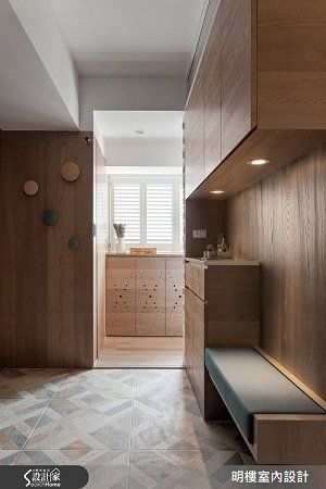 9 個絕美的玄關設計 : 美感、收納、特色一次到位!