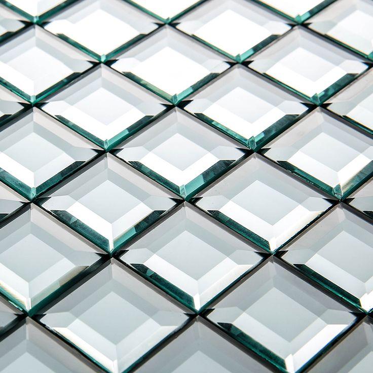 Oltre 25 fantastiche idee su piastrelle di vetro su pinterest lastre di vestro per mosaico e - Specchio mosaico vetro ...