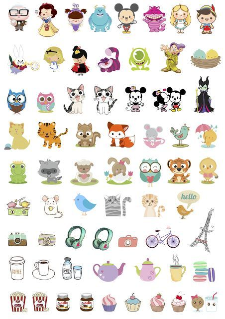 Best 25 free printable stickers ideas on pinterest for Planner casa online gratis