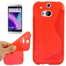 Forro Gel HTC One M8 Sline Roja  $ 17.400,00