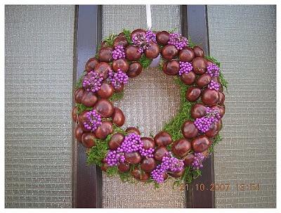 chestnuts wreath