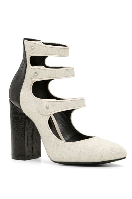 23 Amazing Heels To Start Fall Off On The Right Foot #refinery29 http://www.refinery29.com/best-fall-heels-2015#slide-2 All strapped in....
