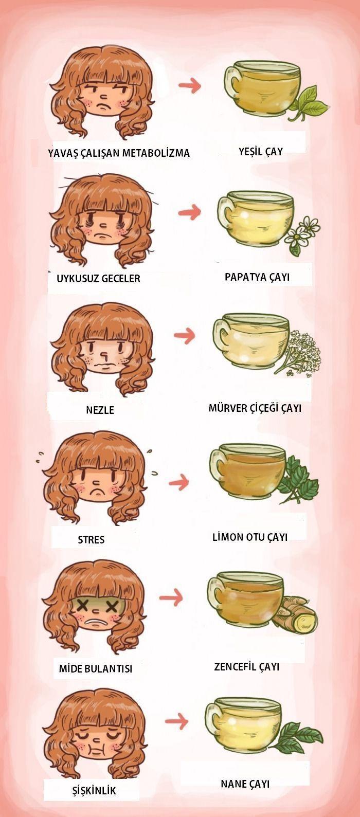 Hangi bitkisel çay hangi rahatsızlığa faydalıdır. #sağlık #sağlıkhaberleri #bitkiselçay #health #tea