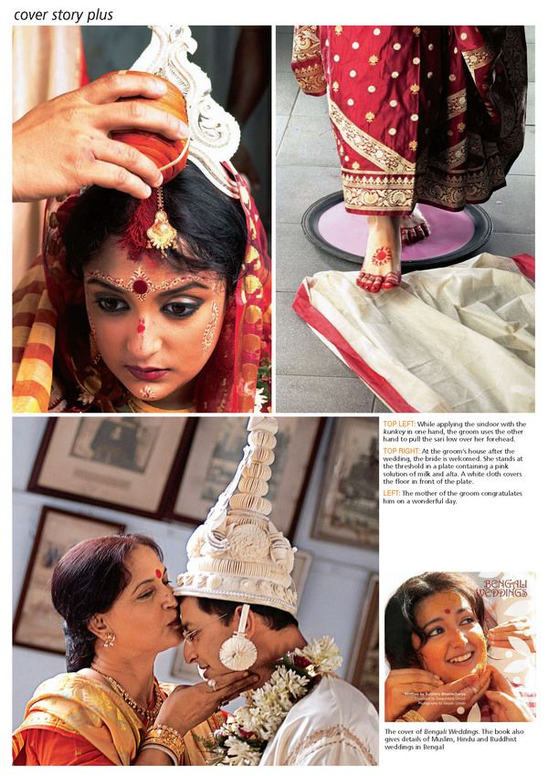 alta <3 bindi <3 see this site for good details on the bengali bride <3
