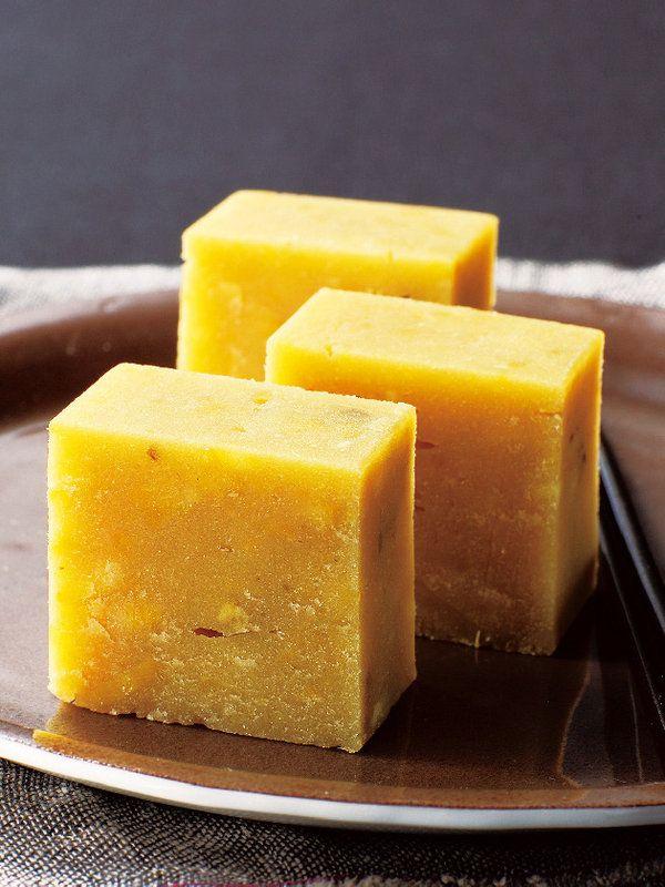 Mashed sweet potato 芋羊羹 (imo-youkan)