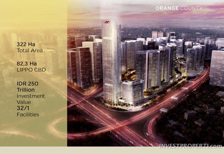 Orange County Cikarang new township. #orangecountycikarang