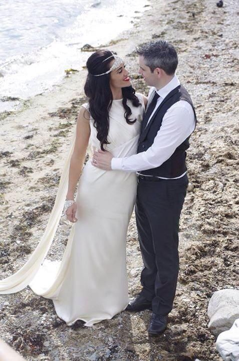 What a stunning image? A beautiful couple who got married here last year.
