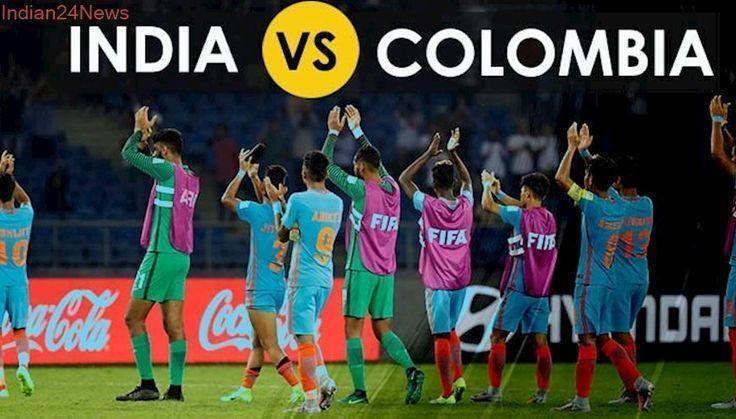 India Vs Colombia Football Match Live Score & Updates, FIFA Under 17 World C...