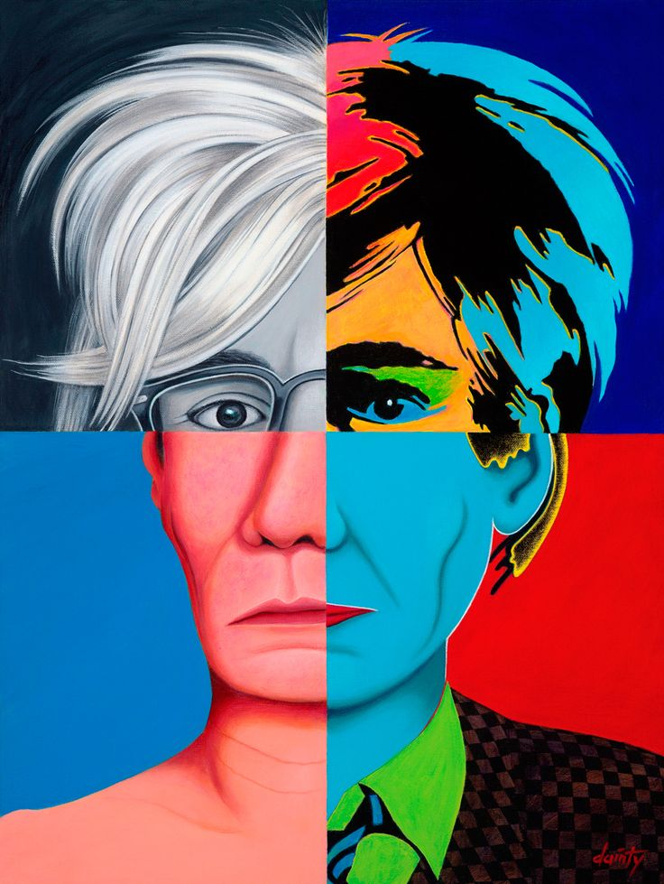 Andy Warhol - American artist who was a leading figure in the visual art movement known as pop art.