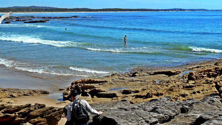 Beach at Bartlett Reserve, Bonny Hills NSW