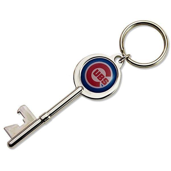 Chicago Cubs Skeleton Key Bottle Opener Key Ring  #ChicagoCubs #Cubs #FlyTheW #MLB #ThatsCub