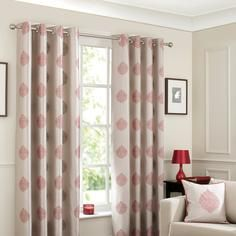 Red India Curtain Collection dunelms