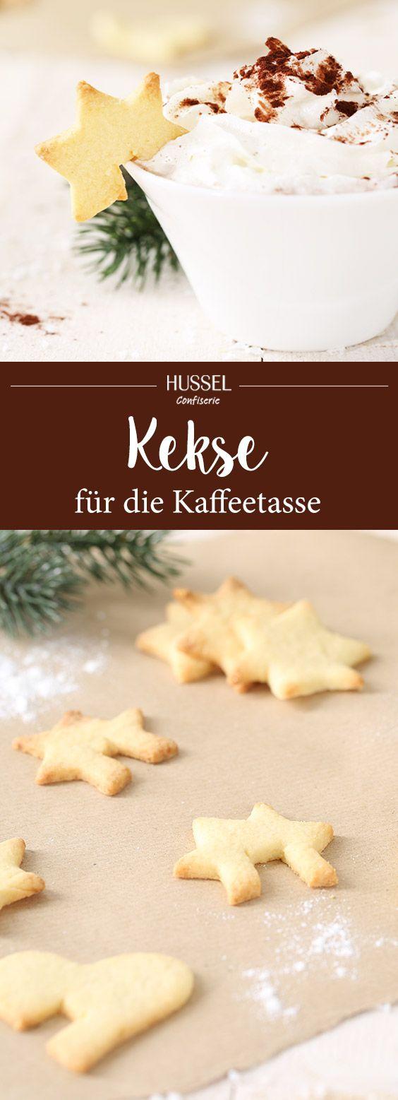 Kekse für die Kaffeetasse - Hussel Confiserie