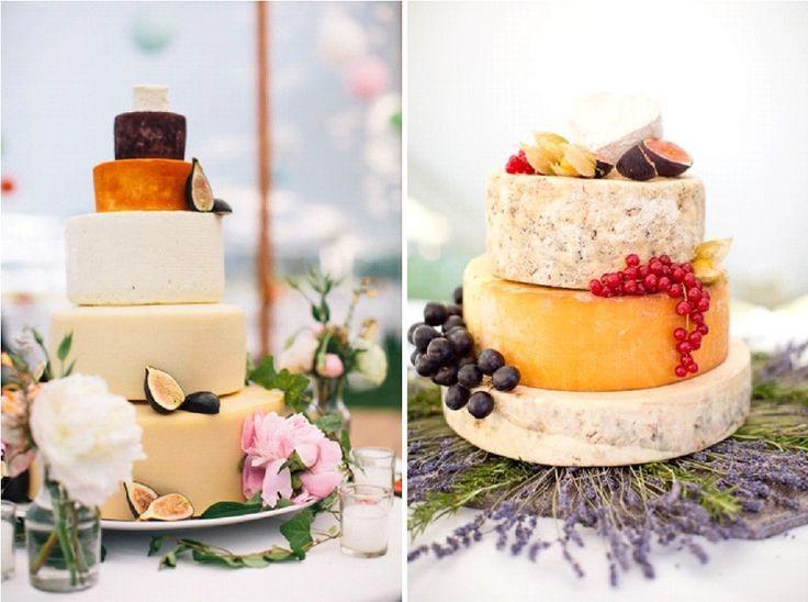 Et si on optait pour une pièce montée de fromages ? mariage, wedding, decoration, www.lamarieeencolere.com