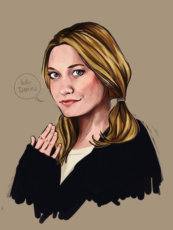 Legion Fan Art - Fx - TV Series - Sydney Barrett - Rachel Keller - Portrait - Digital Art - Illustration   - XMen - HelloTazzina