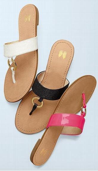 fancy flip flops!