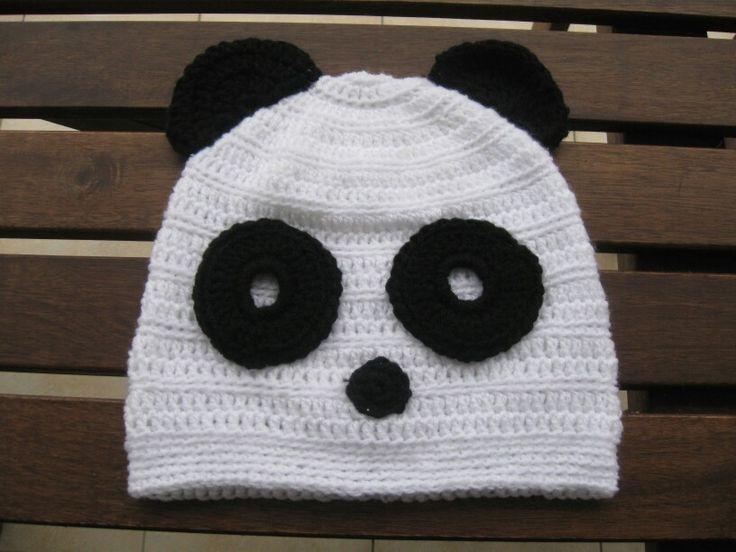 Beanies Crochet and knitting     PANDA