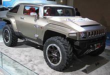 Concept-car Hummer HX.