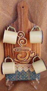 12 Ideas de cómo decorar tu cocina con tablas de madera de picar ~ Haz Manualid…