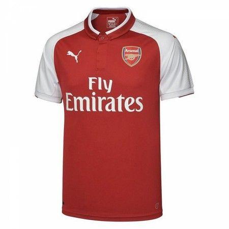 Arsenal Hjemmebanetrøje 17-18 Kort ærmer