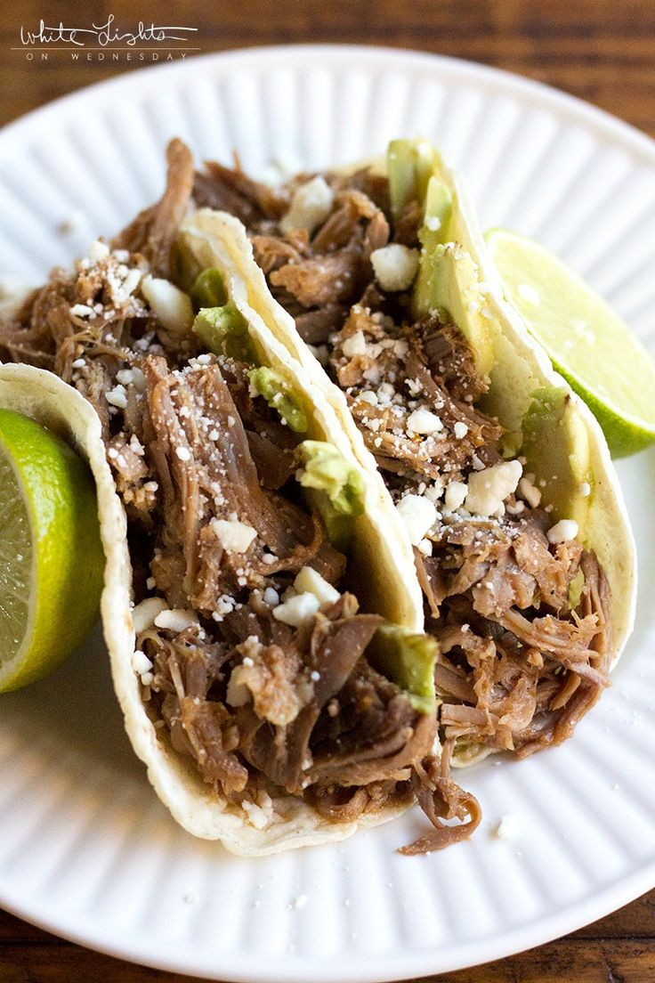 This Crock Pot Cuervo & Tecate Pork Carnitas recipe is packed with ...