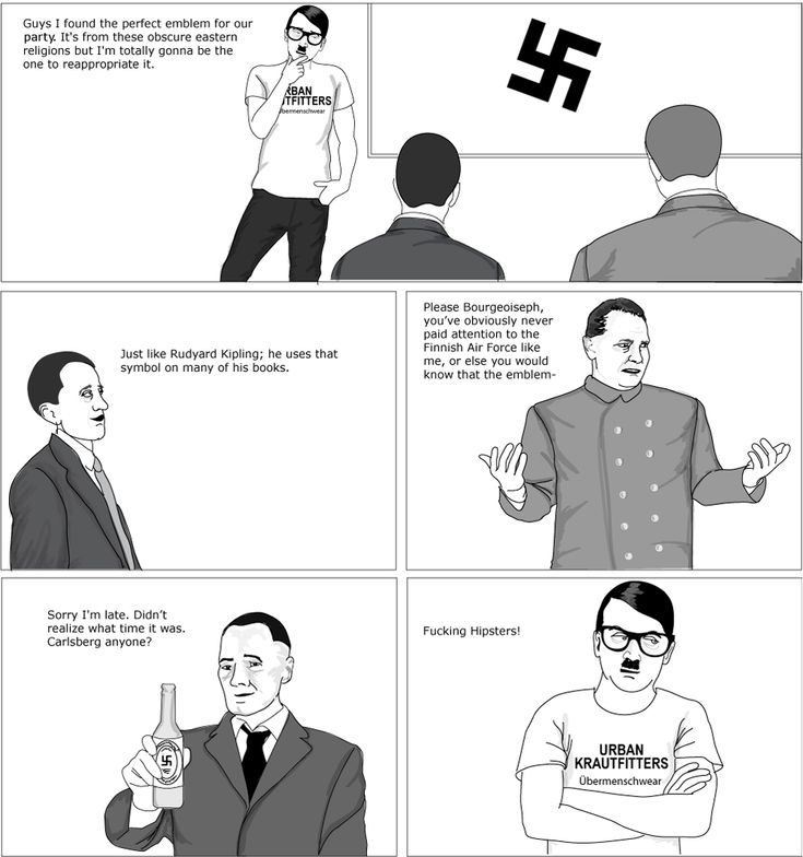 hipster hitler visits the - photo #12
