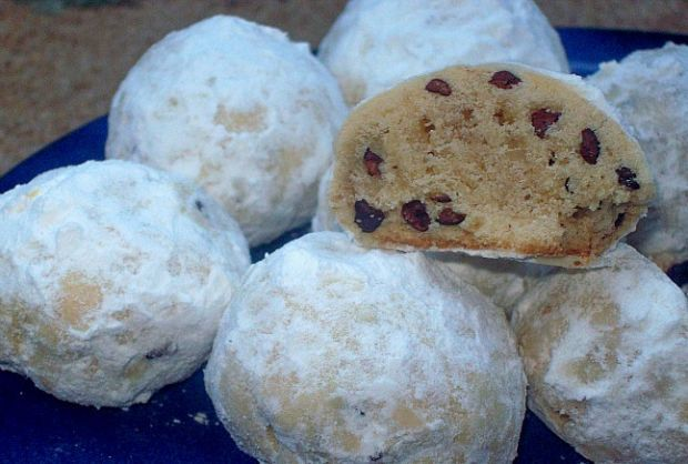 Russian Tea Cakes with Cocoa Nibs - Joy of Kosher