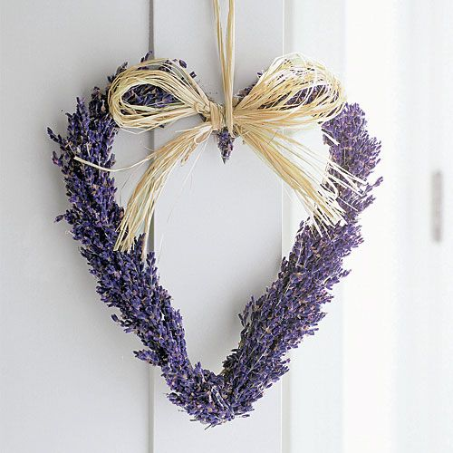 Lavender wreathHeart Crafts, Ideas, Home Crafts, Heart Wreaths, Lavender Wreaths, Heart Shape, Front Doors, Lavender Heart, Crafts Stores
