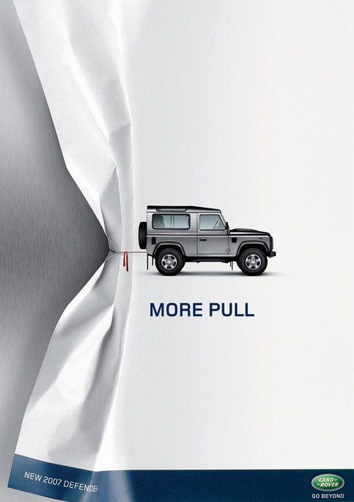 Land Rover #Advertising