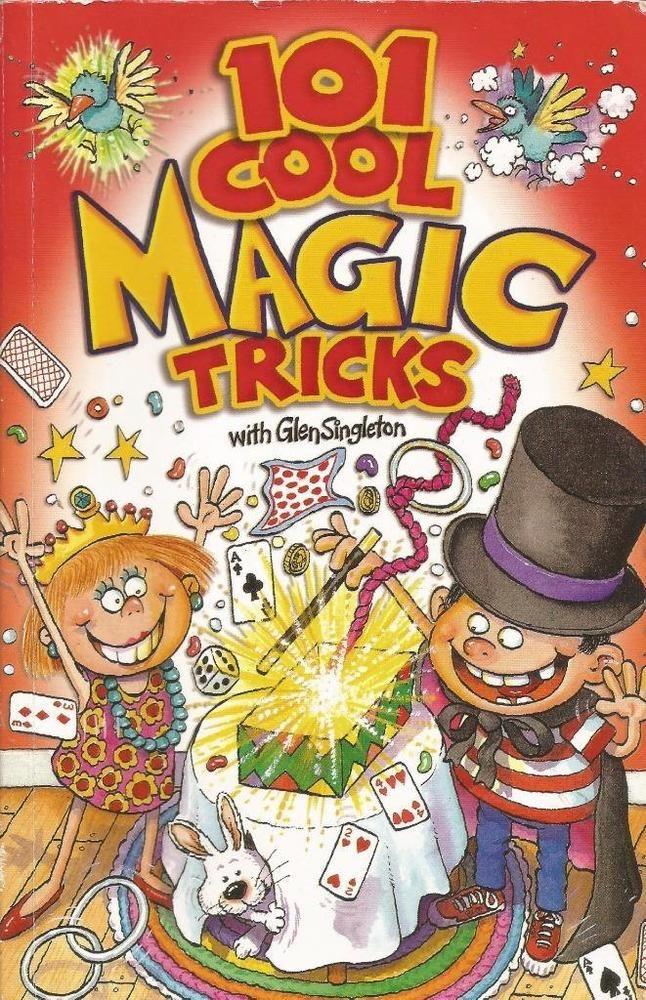 101 Cool Magic Tricks with Glen Singleton - Paperback - S/Hand