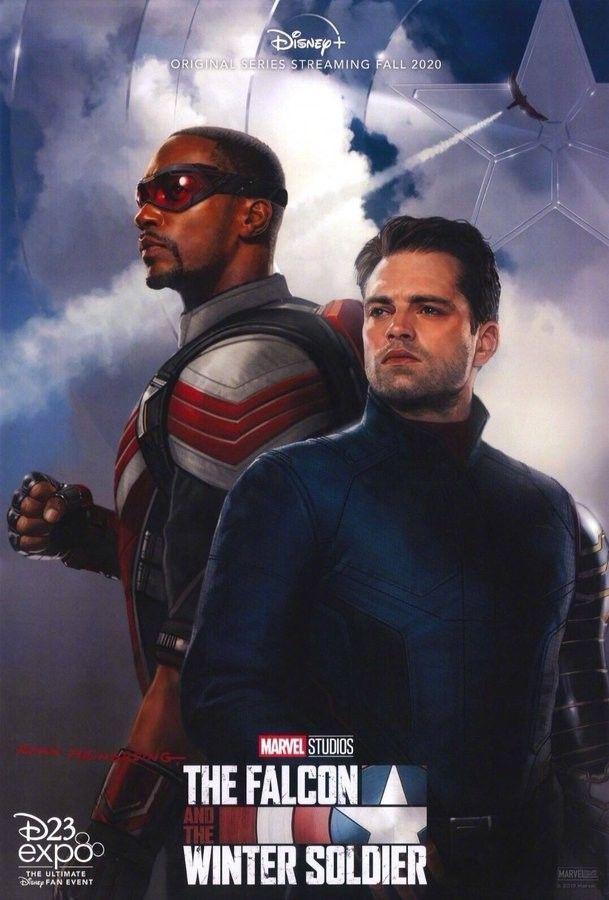 The Falcon And Winter Soldier Marvel Studios Disney Plus Avec