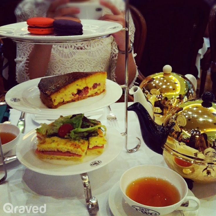 High Tea Set at TWG Tea Salon & Boutique