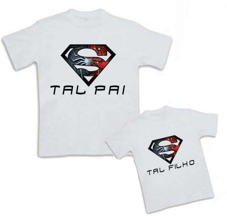 Veja nosso novo produto kit Camisetas Tal Pai e Tal Filho - Superman! Se gostar, pode nos ajudar pinando-o em algum de seus painéis :)